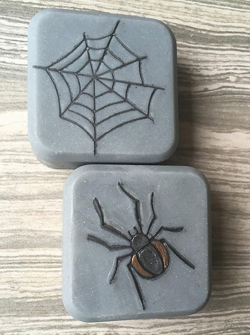 Spider Web and Spider Soap Stamp - see size in separate listings