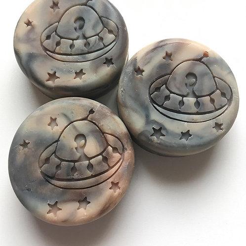 "UFO Soap Stamp - 2.12"" x 2.12"" (54mm x 54mm)"
