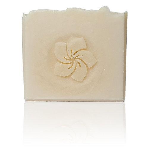 "3D Plumeria Flower Soap Stamp - 1.57"" (40mm) diameter"