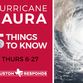Responding Hurricane Laura - August 27,2020