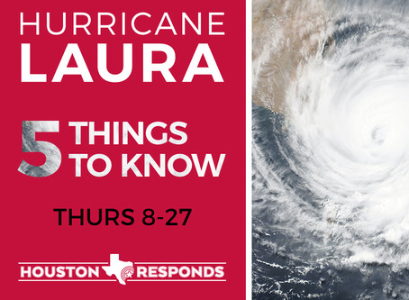 Responding Hurricane Laura - August 27,2020