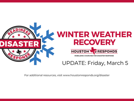 Winter Weather Update - Friday, March 5th