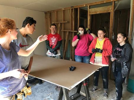 Massive Volunteer Effort over Spring Break Brings Hope to Flood Victims