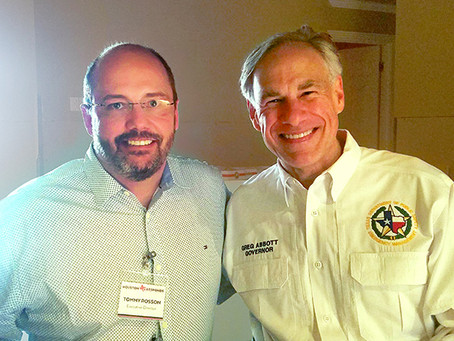 Governor Abbott Endorses Church-Led Recovery