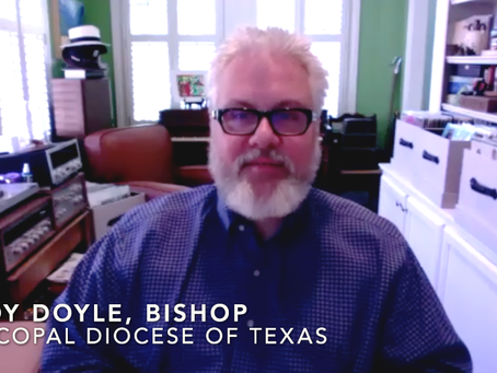 COVID-19: Episcopal Diocese of Texas Supports Masks for All and Discusses Their Response to COVID-19