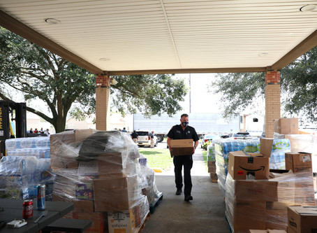 Houston Responds East and Inspire Church Team Up to Aid Laura Victims in Lake Charles