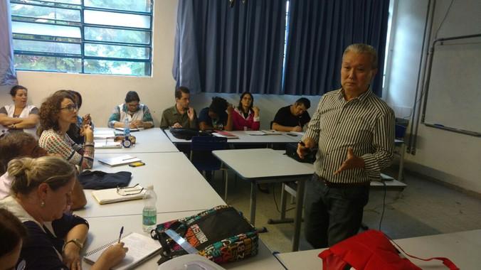 Palestra na Escola Teotônio Alves Pereira