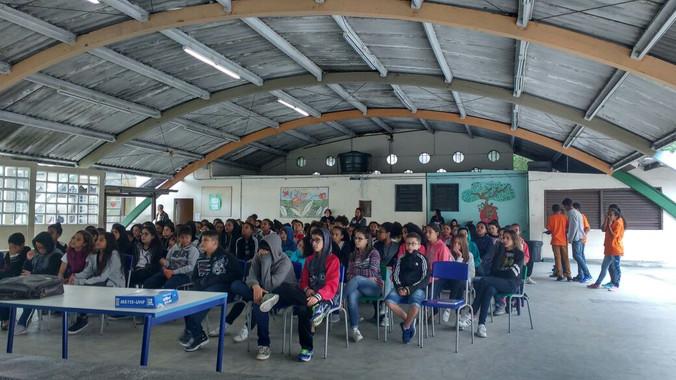 Escola Reinaldo Ribeiro: Encontros com pais e familiares, alunos, Líderes de Turmas e Presidentes de