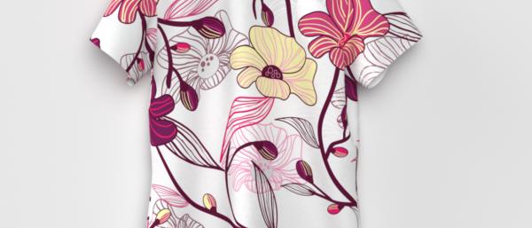Floral Print Women T-Shirt