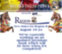 New dates for Region 8 new premium book