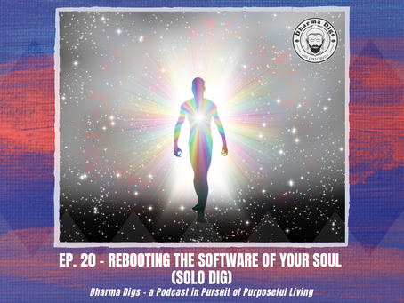 Ep. 20 - Rebooting the Software of Your Soul (solo dig) - Dharma Digs Podcast