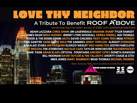 Love Thy Neighbor - A Virtual Stream Tribute to Benefit Roof Above Charlotte