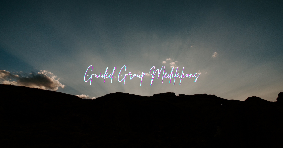 Monday Morning Group Meditations