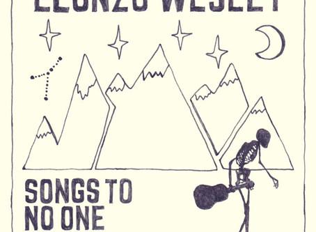 Elonzo Wesley Release New Album - Songs to No One