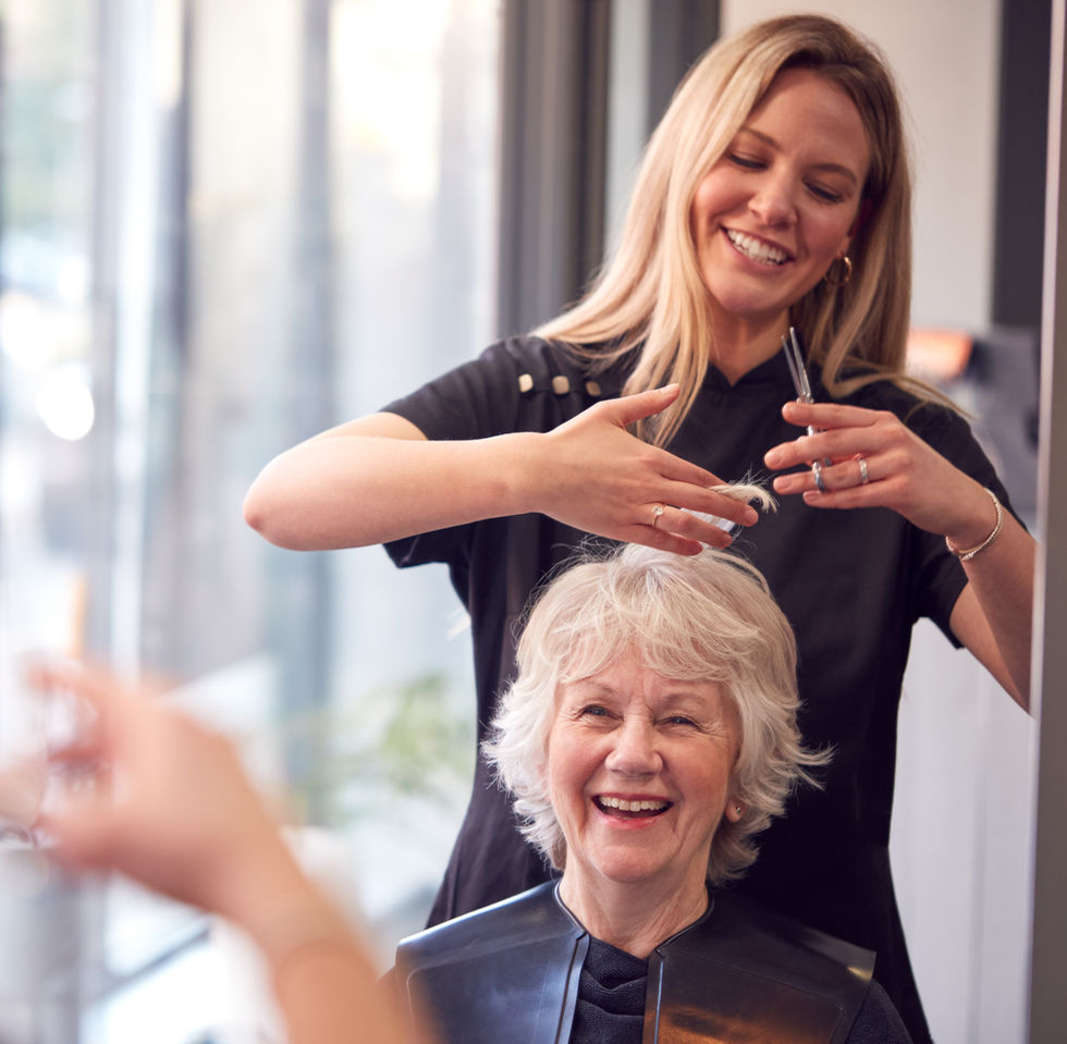 Hairdresser Positival