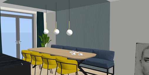 Interior design nieuwbouwwoning Vroondaal