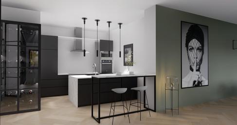 Interieurontwerp Keukenrenovatie Amsterd