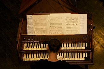 Kirkman harpsichord, Katelyn Clark