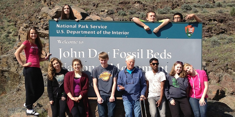 Canceled: John Day Fossil Beds 8th-grade Retreat