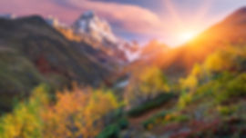 Осень в Сванети