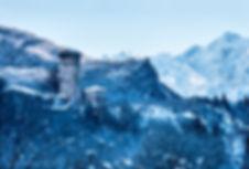 Зима в Верхней Сванети