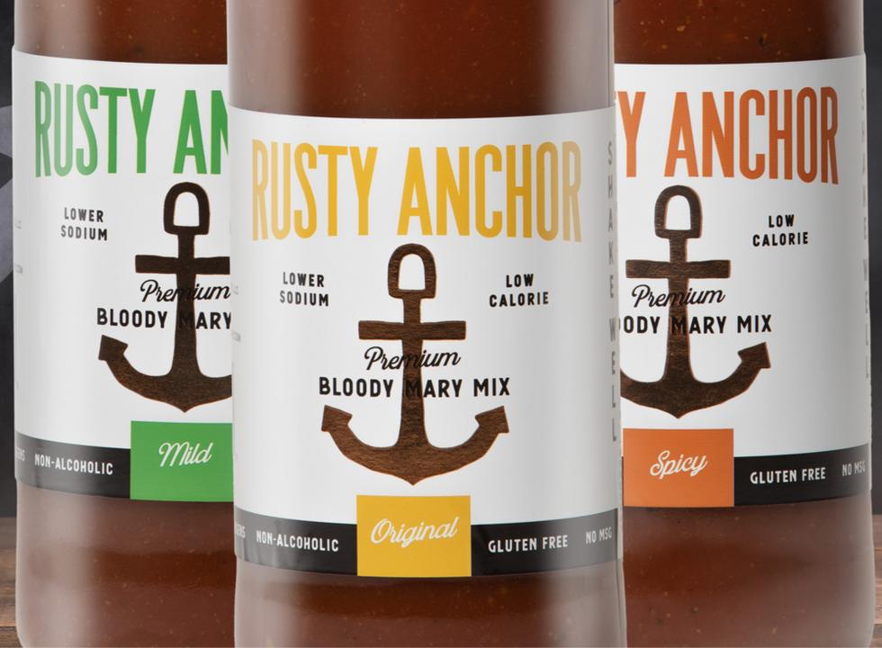 Rusty Anchor Branding