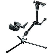 Bras Magique Manfrotto +Clamp + Platine +Pied low mode