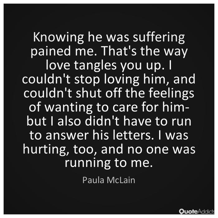 paula mclain quote when love isn't enough kristi mcallister