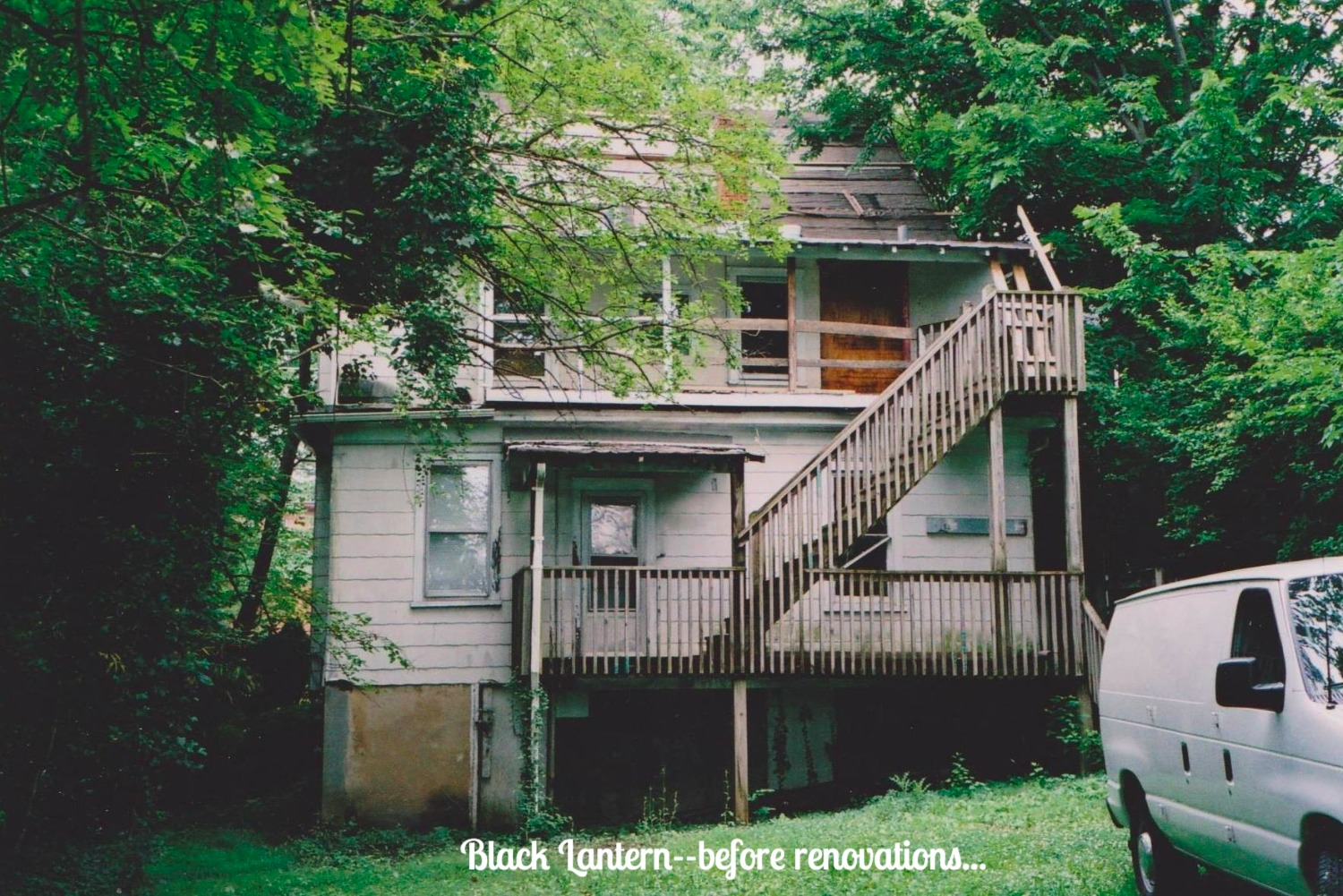 bed and breakfast black lantern inn ron chuman roanoke virginia
