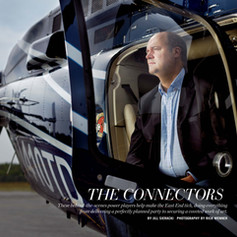 Tim Hayes Cover Feature in Hamptons Magazine