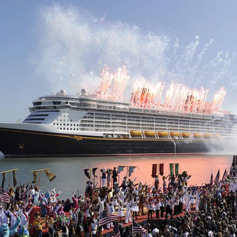 Disney Magic Ship Launch