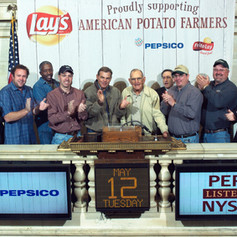 New York Stock Exchange Opening Bell with PepsiCo & Frito Lay