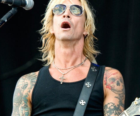 Guns n Roses' Duff McKagan Live Performance
