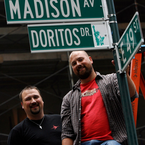 Doritos Seet Renaming NYC