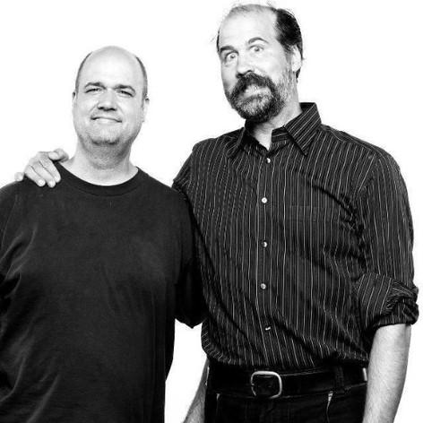 Nirvana's Krist Novoselic & Tim Hayes