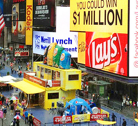 Lays Experiential Event in Times Square