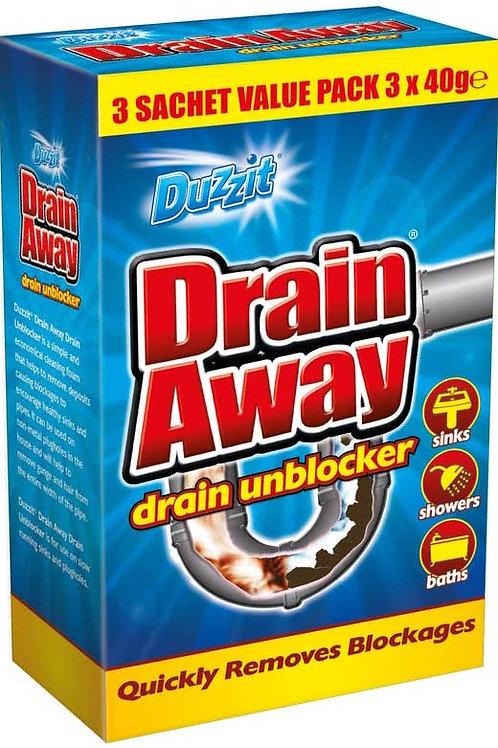 Duzzit drain Away Drain Unblocker