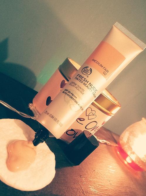 Fresh Nude Tinted Beauty Balm SPF 30 PA+++ Medium fair 02