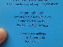 My first solo show is coming up - please join me!