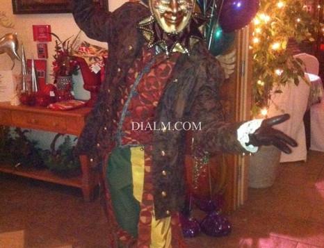 Mardi Gras Masked Jester by dialm.com.jp