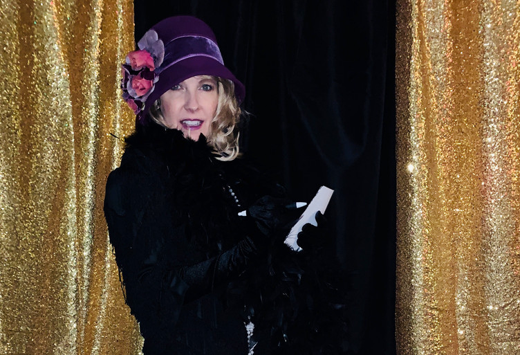 Gossip Columnist Louella Parsons Cat's M