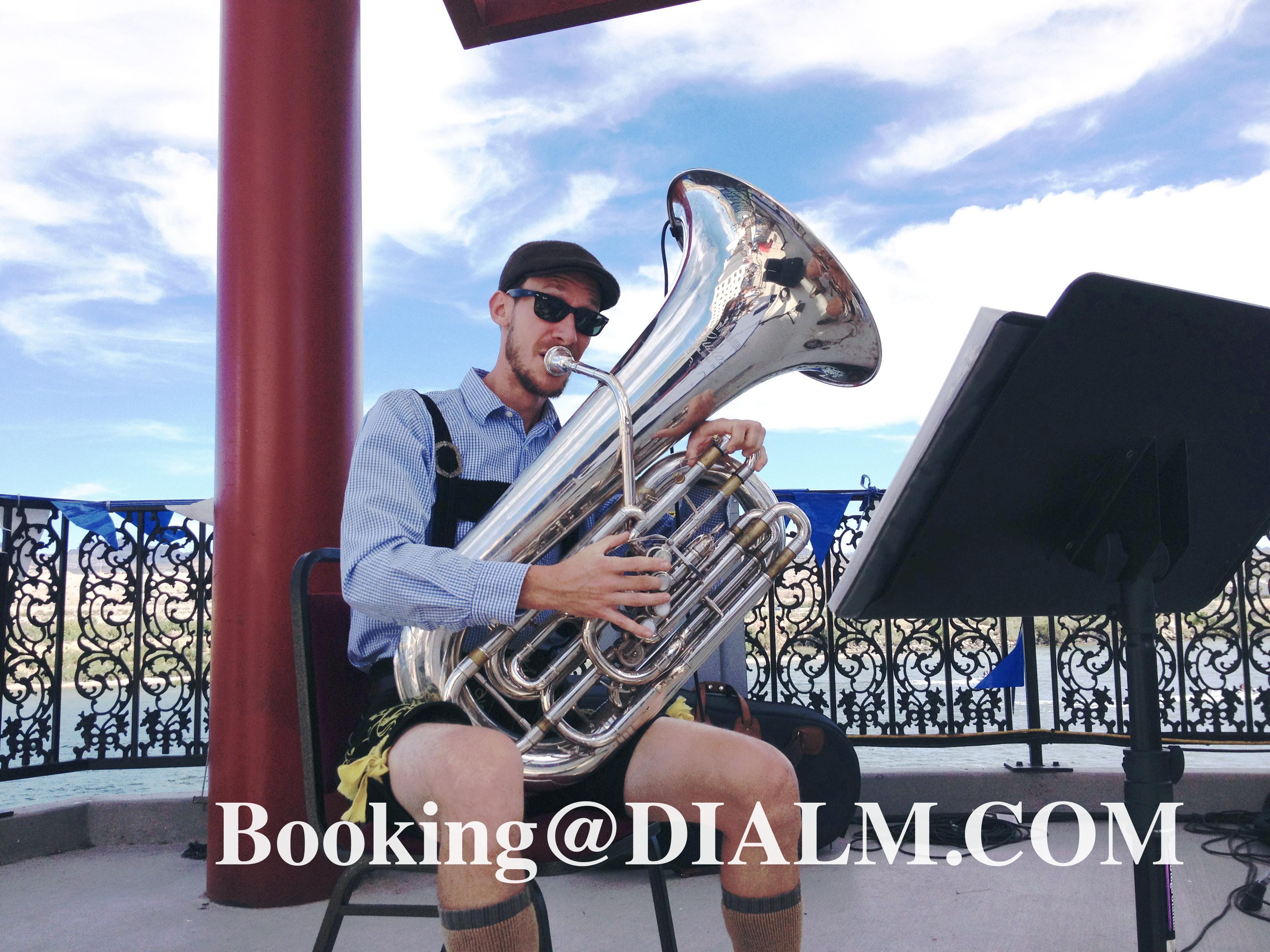 Oktoberfest  Band Tuba
