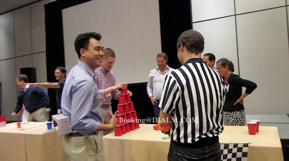 Minute to Win It Team Building Games