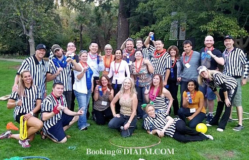 Picnic Games for Cisco Team Building Act