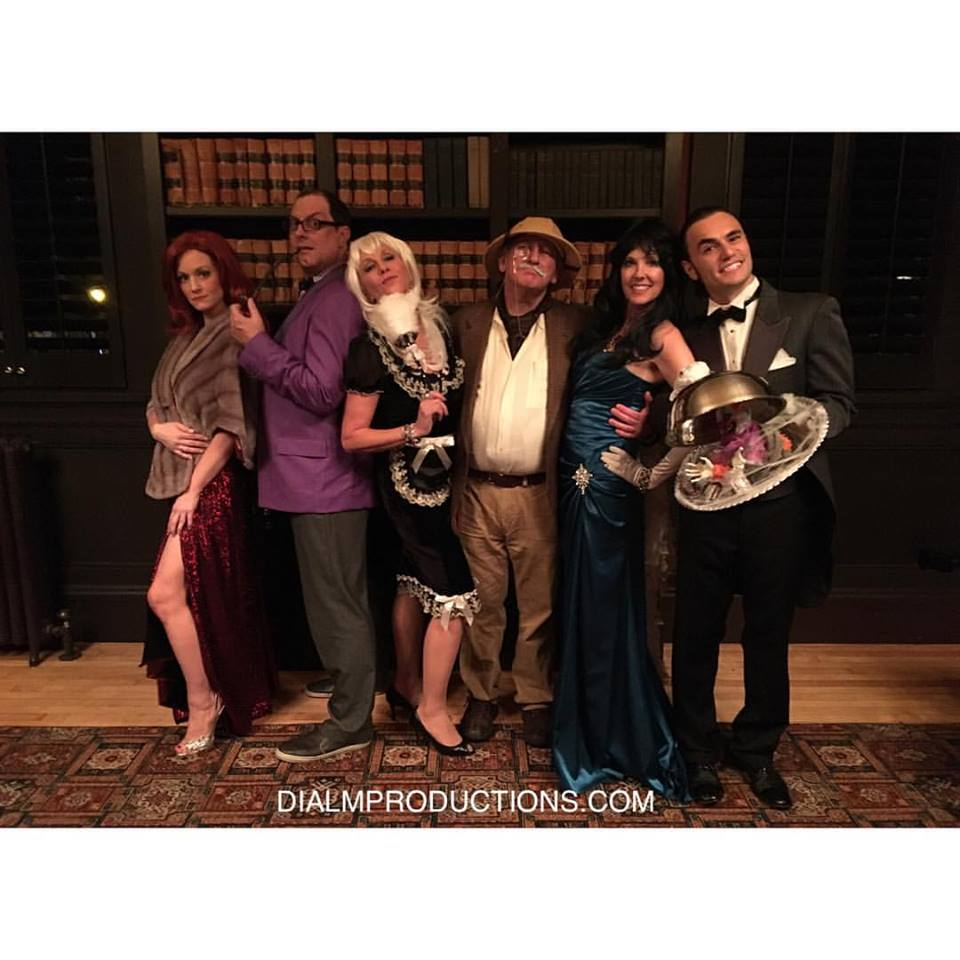 Clue Murder Mystery Cast Whodunnit