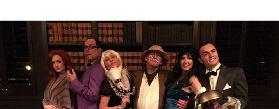 Clue Murder Mystery Cast DialM Whodunnit