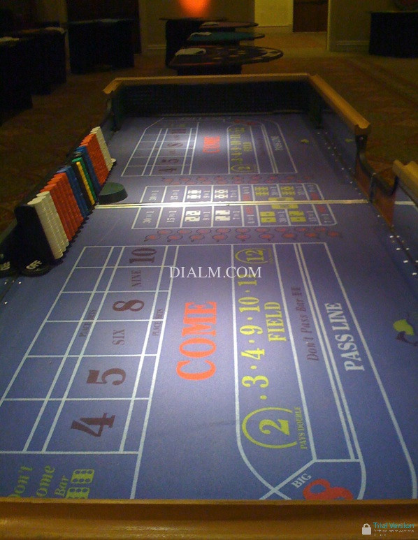 Craps Tables For Rent