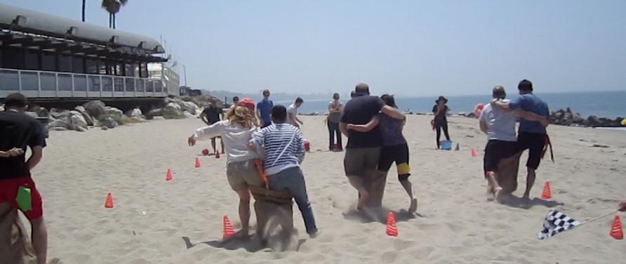 Corporate Beach Picnic Games Team Building Activity