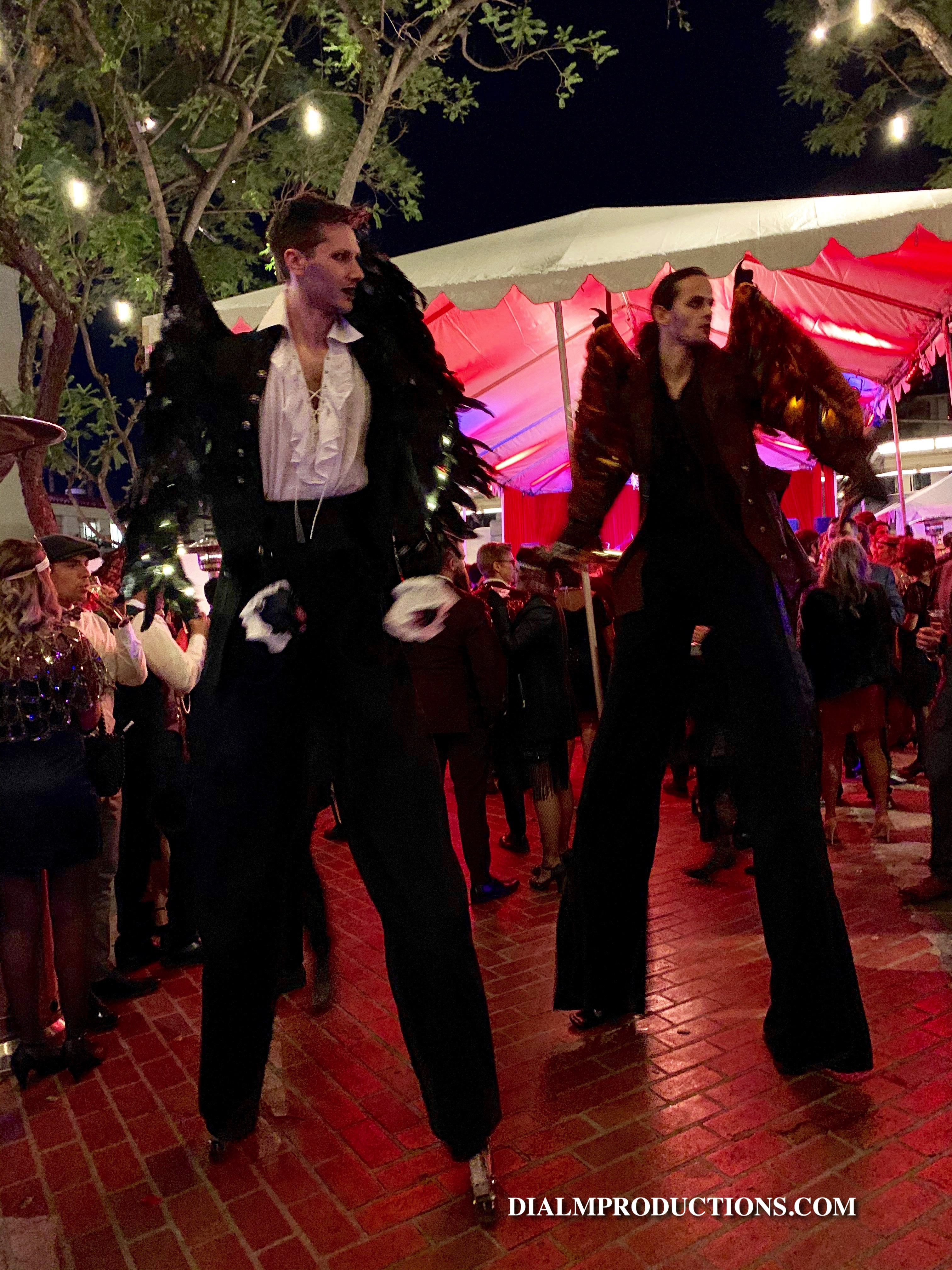 Stilt Walkers New Years Eve 2019 Prohibi