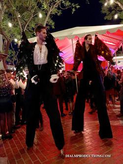 Stilt Walkers New Years Eve 2019 Prohibi